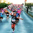 13,600 runners delight in city's half marathon