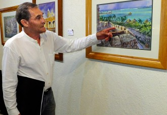 Commerce Chamber showcases Jorge Monroy's  watercolors of Mexico's 'Magic Towns'