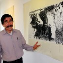Hypnotic abstract art on show in Pinar de la Venta