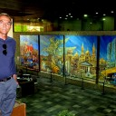 Mural depicts city's history